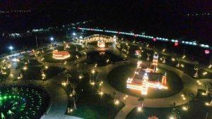 Công viên 7 kỳ quan tại Khu đô thị Cát Tường Phú Hưng