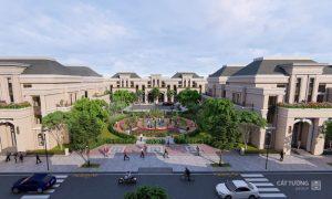 Công viên Hồng Ngọc tại Khu đô thị Cát Tường Phú Hưng
