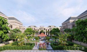 Công viên Khổng Tước tại Khu đô thị Cát Tường Phú Hưng