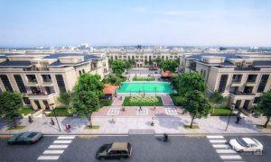 Công viên Ngọc Trai tại Khu đô thị Cát Tường Phú Hưng