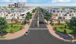 Đại lộ trung tâm tại Khu đô thị Cát Tường Phú Hưng