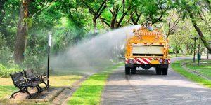 Dịch vụ vệ sinh đô thị tại Khu đô thị Cát Tường Phú Hưng