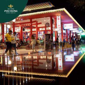Phố thương mại Phú Thiên Kim tại Khu đô thị Cát Tường Phú Hưng