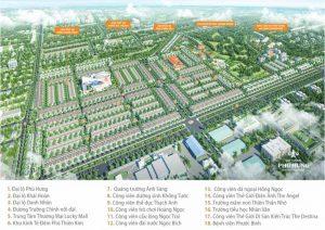 Mặt bằng tổng quan Khu đô thị Cát Tường Phú Hưng