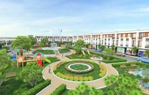 Phối cảnh công viên trung tâm dự án Phúc Hưng Golden