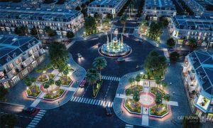 Quảng trường tại Khu đô thị Cát Tường Phú Hưng