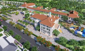 Trường tiểu học tại Khu đô thị Cát Tường Phú Hưng